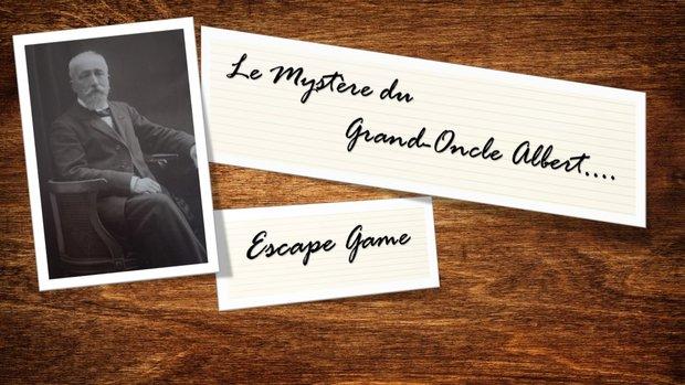 Loisirs Le Mystère Grand Oncle Albert - Escape Game