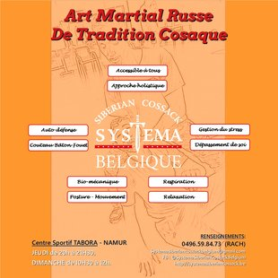 Stages,cours Cours d art martial Russe  systema Siberian Cossack