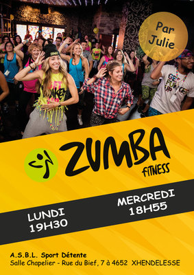 Stages,cours Cours Zumba