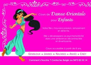 Stages,cours Cours danse orientale pour enfants
