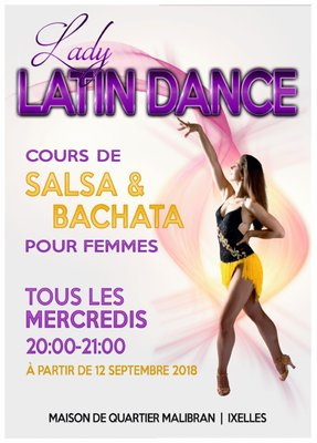 Stages,cours Salsa & Bachata pour femmes (Ladies Styling)