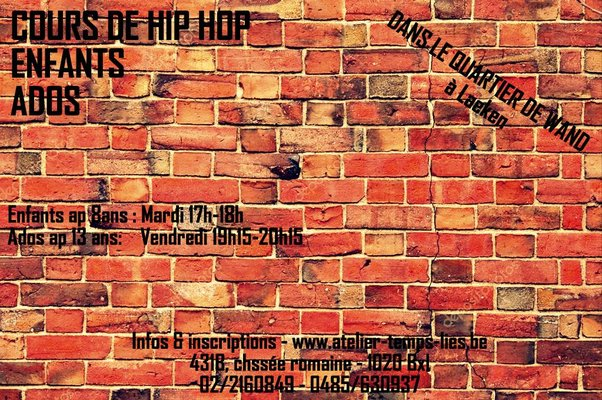 Stages,cours Cours Hip Hop