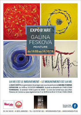 Expositions ExpÔ b Art – Galina Feskova