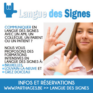 Stages,cours Formation intensive langue signes
