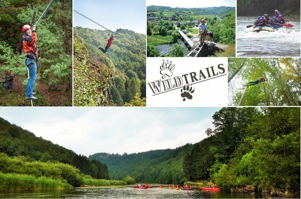 Loisirs Wildtrails: Sports Adventure, Lasergame, kayak, rafting, spéléologie, ...