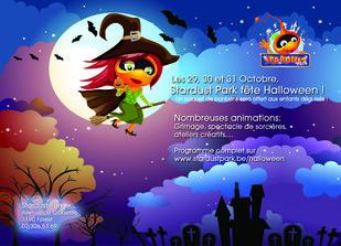 Loisirs Stardust Park fête Halloween
