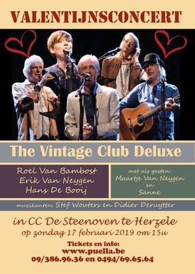 Concerten Valentijnsconcert The Vintage Club Deluxe