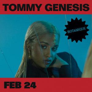 Concerten Tommy Genesis (CA)