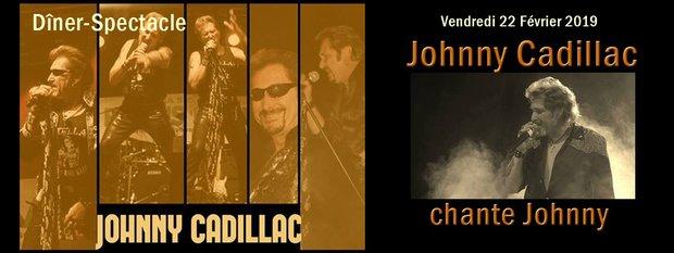 Soirées Dîner-Spectacle Johnny Cadillac hommage à Johnny Hallyday