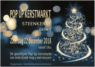 Kerstmarkten Pop Kerstmarkt Steenkerke