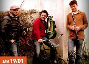 Concerten Queimada : Loogaroo (BE), Trio Roblin Evain Badeau (FR), A Contrabanda. Folk