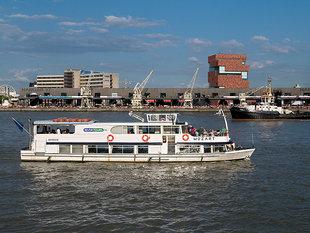 Ontspanning Boottocht Antwerpen naar Lillo, langs Doel de drukke containerhavens