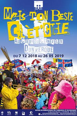 Expositions Mets Beste Clèt che. coeur carnaval Dunkerque.
