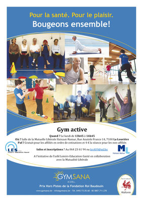Stages,cours Cours gym