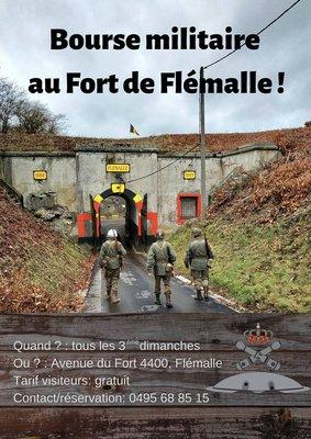 Loisirs Bourse militaria Fort Flémalle