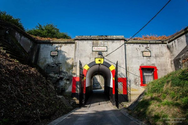 Loisirs Visite Fort Flémalle de musée