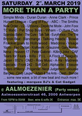 Nachtleven 80s - more than a party
