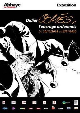 Expositions Exposition temporaire  Didier Comès, l encrage ardennais