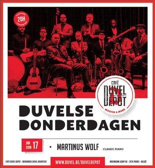 Concerten Duvelse Donderdagen - Martinus Wolf