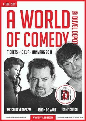 Voorstellingen Duvelse Donderdagen World Comedy
