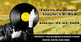Loisirs Foire disque Vinyl (Cd-Dvd) d Alleur