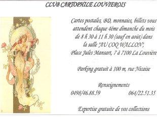 Loisirs Club Cartophile Louvièrois