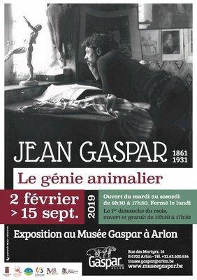 Expositions Exposition  Jean Gaspar (1861-1931), génie animalier