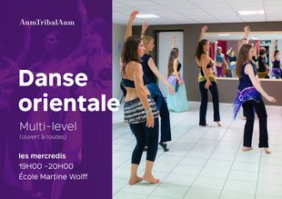 Stages,cours Cours danse orientale Multi-Level