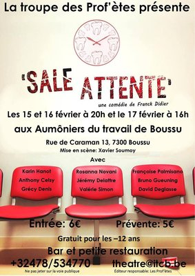 Spectacles Sale attente