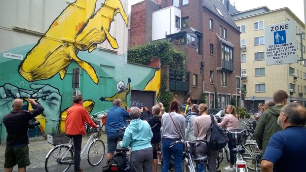 Ontspanning Street Antwerp Bike tour