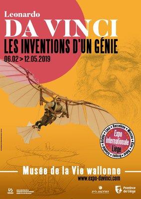 Expositions Expo :  Leonardo Vinci - inventions d un génie