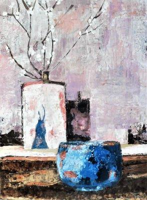 Tentoonstellingen De Muze Eos schilderijen ceramic Els Janssens