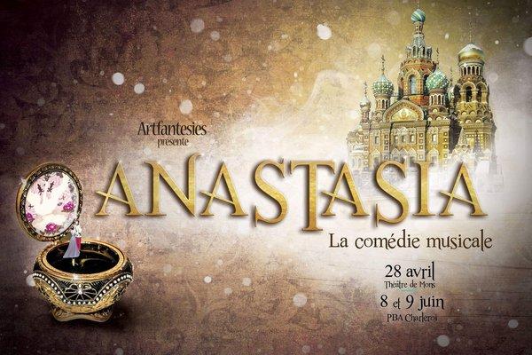 Spectacles Anastasia, comédie musicale