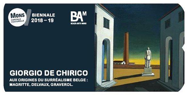 Expositions Giorgio Chirico origines surréalisme belge.