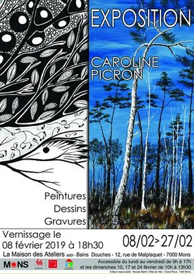 Expositions Exposition Caroline Picron