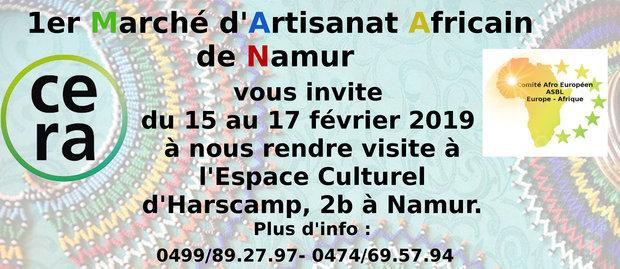 Loisirs Marché d Artisanat Africain Namur