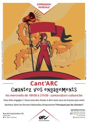 Stages,cours Cant Arc - Chantez engagements