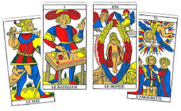 Stages,cours Initiation Tarot Marseille (Formation cycle court certifiée)