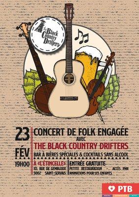 Concerts Concert Folk engagée