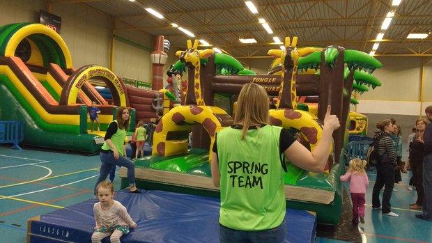 Ontspanning Spring-Sprong Festival