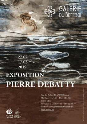 Expositions Exposition Pierre Debatty