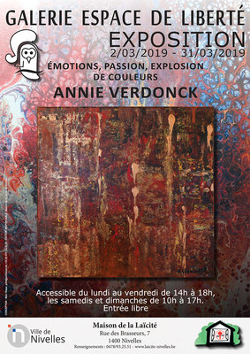 Expositions Emotions, passion, explosion couleurs