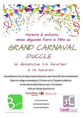 Loisirs Grand carnaval quartier Bascule-Cavell