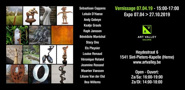 Expositions Jardin sculptures - Galerie Valley