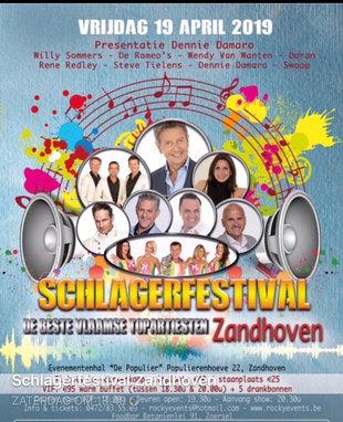 Concerten Schlagerfestival zandhoven