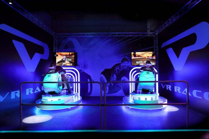 Loisirs Virtual Park plus grand parc réalité virtuelle d Europe