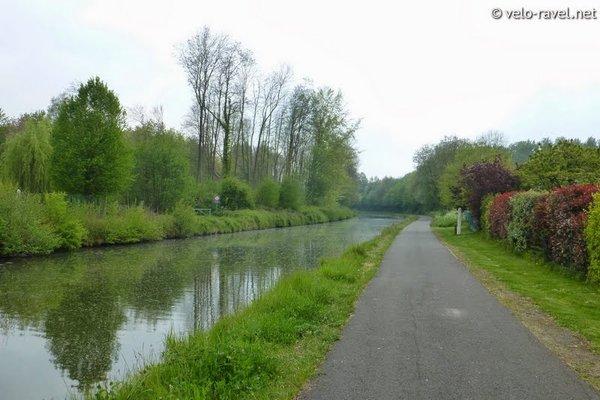 Loisirs Balade à vélo long Ravel 4 fil l'eau
