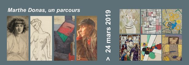 Expositions Marthe Donas, parcours