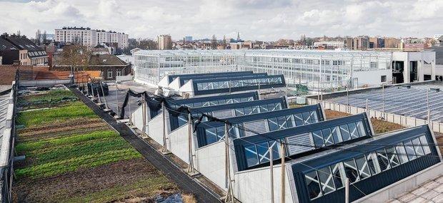 Loisirs Visite la  Ferme urbaine Abattoir , plus grande ferme suspendue d Europe