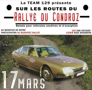 Loisirs Balade ancêtre : les routes Rallye Condroz